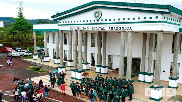 Acuerdo marco con la Universidad Estatal Amazónica (UEA)